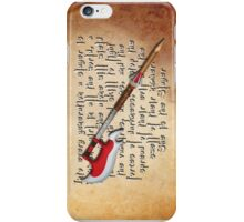 Buffy Slayer Scythe iPhone Case/Skin