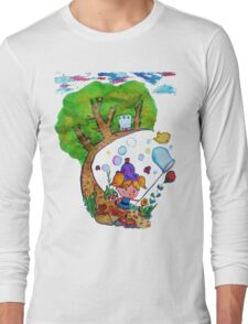 Bubble's Adventure Long Sleeve T-Shirt