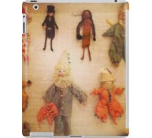 Antique Miniature Handmade Yarn Dollies iPad Case/Skin