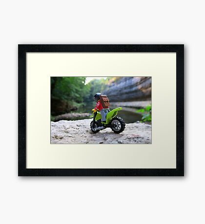 Stop to take a look Framed Print