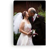 The Happy Couple Canvas Print