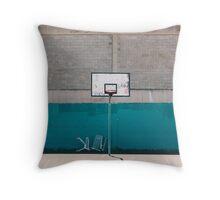 Basktball Court  Throw Pillow
