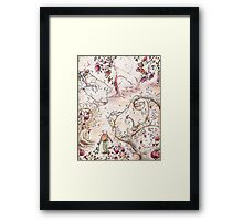 Frog Forest Framed Print