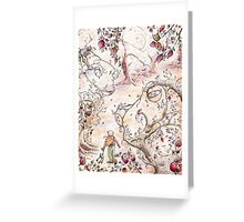 Frog Forest Greeting Card