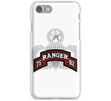 75th Ranger Airborne Master iPhone Case/Skin