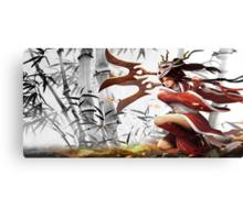 League Of Legends Blood Moon Akali  Canvas Print