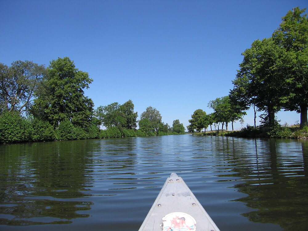 Paddleing in sweden by lucifer007