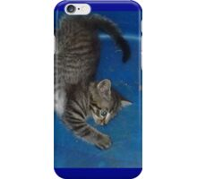 Binky in the Blue iPhone Case/Skin