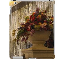 Of Flower Arrangements and Sparkling Crystals iPad Case/Skin