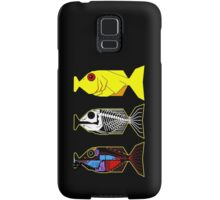 The Hitchhikers Guide to the Galaxy - 3 Babel Fish Samsung Galaxy Case/Skin