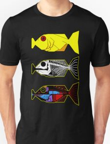 The Hitchhikers Guide to the Galaxy - 3 Babel Fish T-Shirt