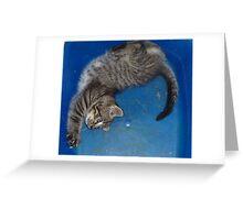 Binky Square Greeting Card