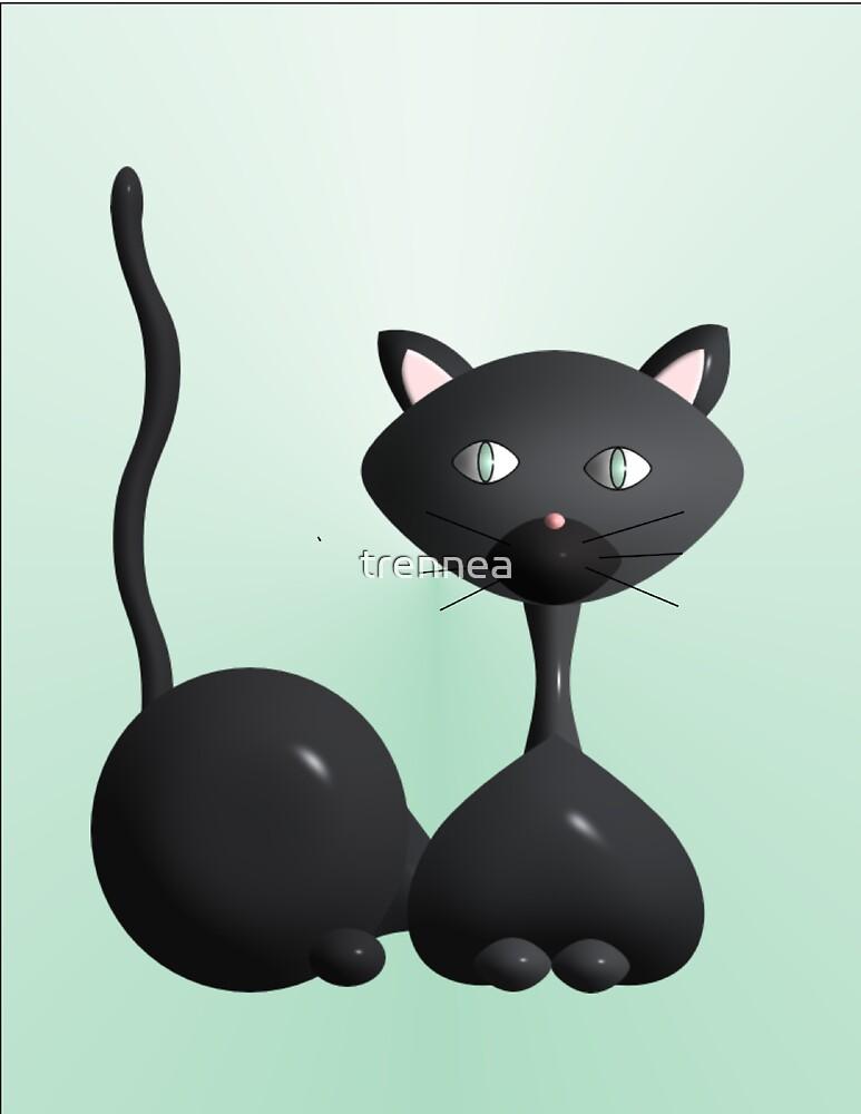 Kitty on Jade by trennea