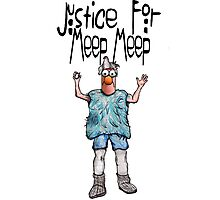 Justice for Meep Meep Photographic Print