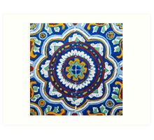 Talavera on Canvas Art Print
