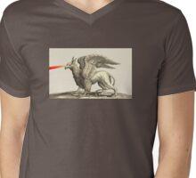 Laser Griffin Mens V-Neck T-Shirt