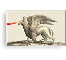 Laser Griffin Canvas Print