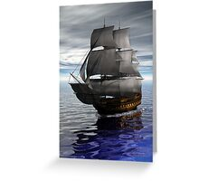 Ship Greeting Card
