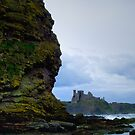 Tantallon Castle by WatscapePhoto