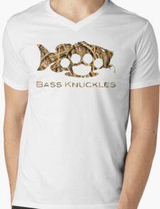 Bass Knuckles Camo Mens V-Neck T-Shirt