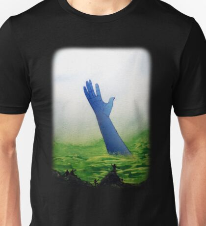 The Great Blue Hand Unisex T-Shirt
