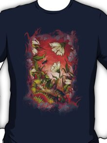 Venus Fly Trap Landscape T-Shirt