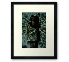 Projection: Explosive Framed Print