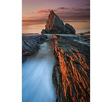 Sunrise Over Elephant Rock Photographic Print