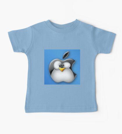 Linux Apple Baby Tee