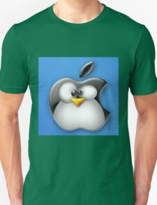 Linux Apple Unisex T-Shirt