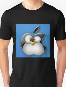 Linux Apple Unisex T-Shirt