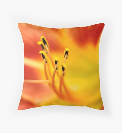 Center Of Attention Throw Pillow