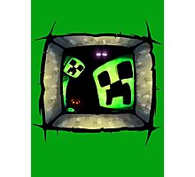 hello-creepers Photographic Print