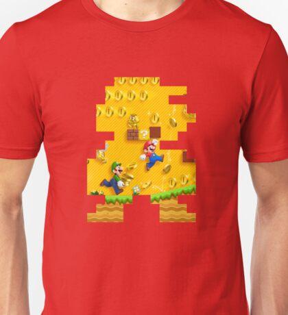 New Super Mario Bros. Pixel Art Unisex T-Shirt