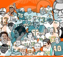 miami dolphins ring of honor by gjnilespop