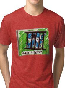 Save a Cat Tri-blend T-Shirt