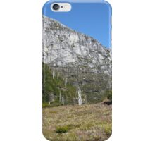 Frenchmans Cap with North Col on approach to Lake Tahune iPhone Case/Skin