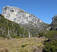 Frenchmans Cap with North Col on approach to Lake Tahune by PeterJF