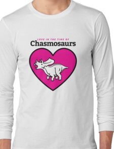 Love in the Time of Chasmosaurs logo: full color Long Sleeve T-Shirt