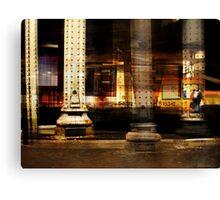 SUBWAY DREAN Canvas Print