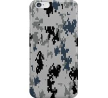 URBAN/METRO camouflage!  So digital cameras cannot see you! iPhone Case/Skin