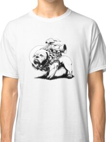 Jetpack Dog | Bulldog Classic T-Shirt