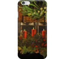 Christmas Candles iPhone Case/Skin