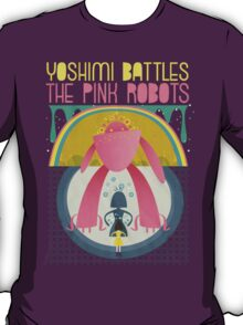 The Flaming Lips (Yoshimi battles the pink robots) T-Shirt