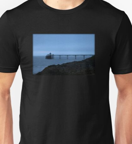 The Clevedon Pier in the Evening Unisex T-Shirt