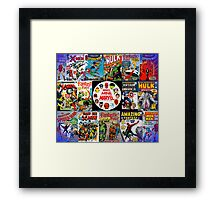 Make Mine Marvel Framed Print
