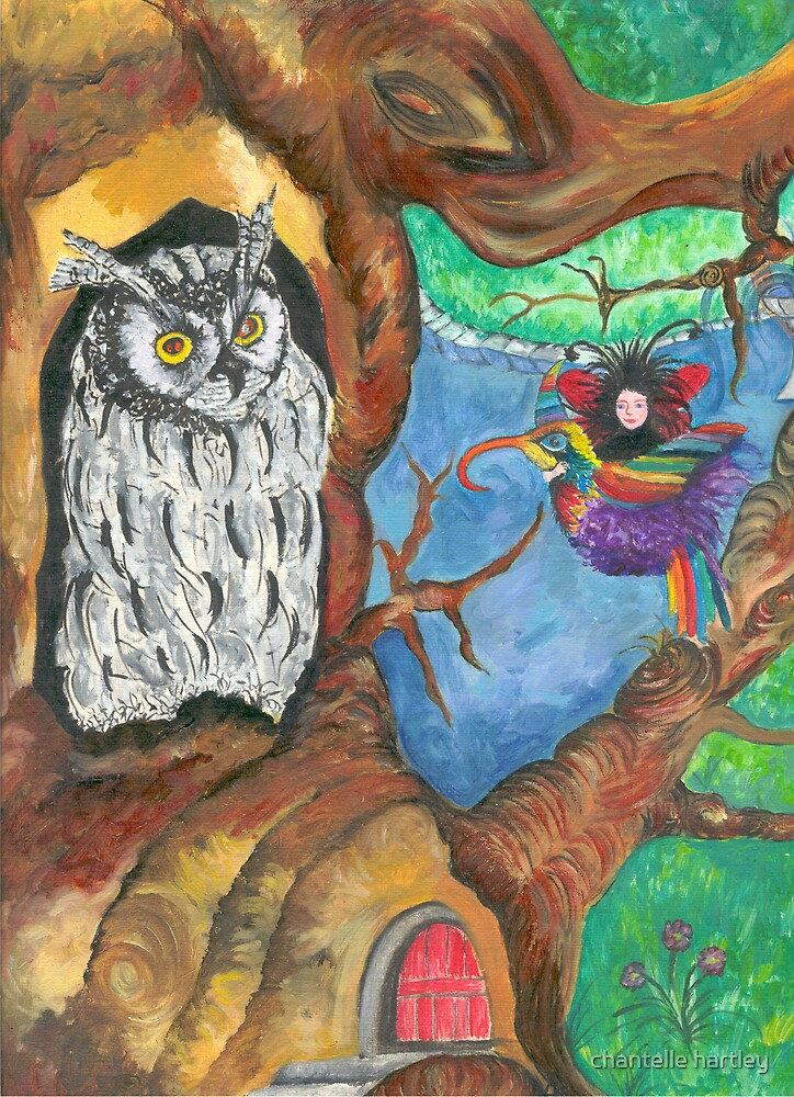 The Wise Owl by chantelle hartley