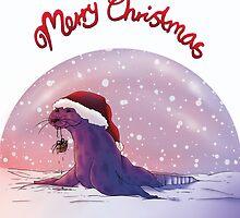 Antarctic Christmas by AnjaJacobsen