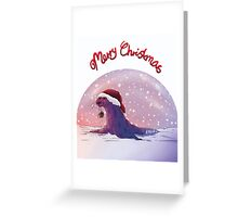 Antarctic Christmas Greeting Card
