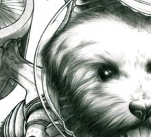 Jetpack Dog | Fluffy Sticker